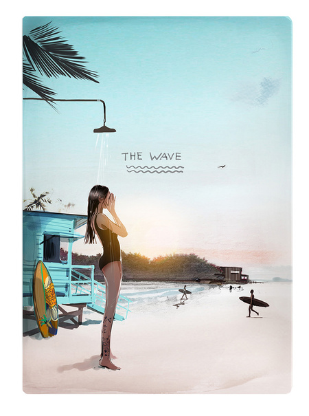 The wave by Sophie Griotto